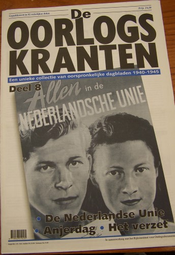 Cover of Allen in de Nederlandse Unie